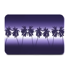 Tropical Sunset Plate Mats by Valentinaart