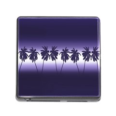 Tropical Sunset Memory Card Reader (square)
