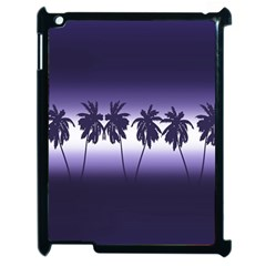 Tropical Sunset Apple Ipad 2 Case (black)
