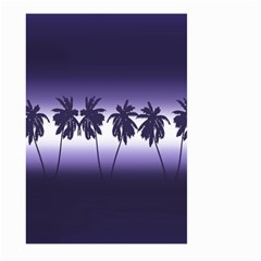 Tropical Sunset Large Garden Flag (two Sides)