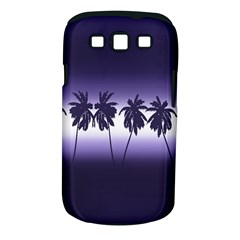 Tropical Sunset Samsung Galaxy S Iii Classic Hardshell Case (pc+silicone)