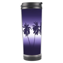 Tropical Sunset Travel Tumbler