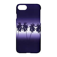 Tropical Sunset Apple Iphone 7 Hardshell Case by Valentinaart