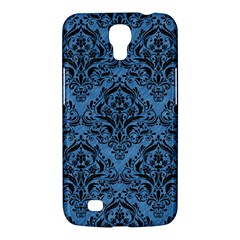 Damask1 Black Marble & Blue Colored Pencil (r) Samsung Galaxy Mega 6 3  I9200 Hardshell Case by trendistuff