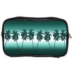 Tropical Sunset Toiletries Bags 2 Side