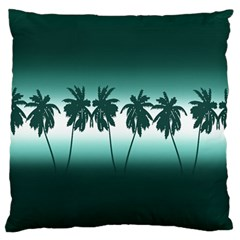 Tropical Sunset Large Cushion Case (two Sides)