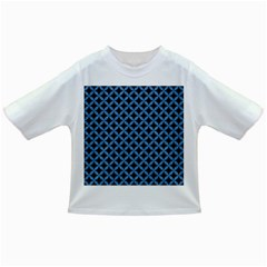 Circles3 Black Marble & Blue Colored Pencil Infant/toddler T Shirt by trendistuff