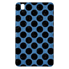 CIRCLES2 BLACK MARBLE & BLUE COLORED PENCIL (R) Samsung Galaxy Tab Pro 8.4 Hardshell Case
