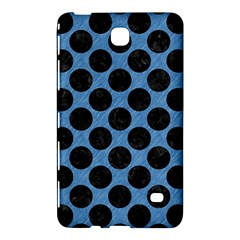 CIRCLES2 BLACK MARBLE & BLUE COLORED PENCIL (R) Samsung Galaxy Tab 4 (7 ) Hardshell Case