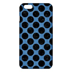 CIRCLES2 BLACK MARBLE & BLUE COLORED PENCIL (R) iPhone 6 Plus/6S Plus TPU Case