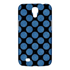 Circles2 Black Marble & Blue Colored Pencil Samsung Galaxy Mega 6 3  I9200 Hardshell Case by trendistuff