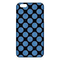 Circles2 Black Marble & Blue Colored Pencil Iphone 6 Plus/6s Plus Tpu Case by trendistuff