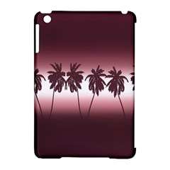 Tropical Sunset Apple Ipad Mini Hardshell Case (compatible With Smart Cover)