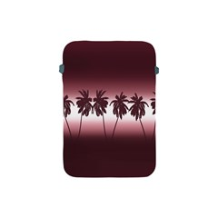Tropical Sunset Apple Ipad Mini Protective Soft Cases by Valentinaart