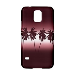 Tropical Sunset Samsung Galaxy S5 Hardshell Case