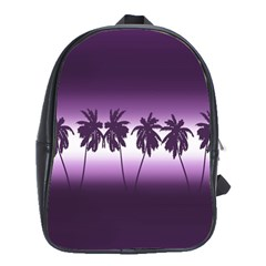 Tropical Sunset School Bags(large)  by Valentinaart