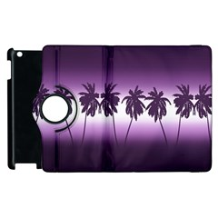 Tropical Sunset Apple Ipad 2 Flip 360 Case by Valentinaart