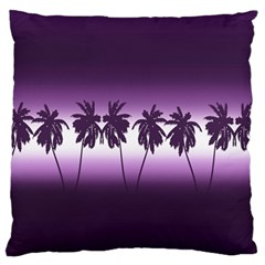 Tropical Sunset Standard Flano Cushion Case (two Sides)
