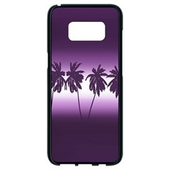 Tropical Sunset Samsung Galaxy S8 Black Seamless Case