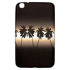 Tropical Sunset Samsung Galaxy Tab 3 (8 ) T3100 Hardshell Case  by Valentinaart