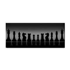 Chess Pieces Cosmetic Storage Cases by Valentinaart
