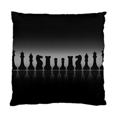 Chess Pieces Standard Cushion Case (one Side) by Valentinaart