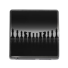 Chess Pieces Memory Card Reader (square) by Valentinaart