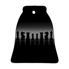 Chess Pieces Ornament (bell) by Valentinaart