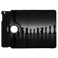 Chess Pieces Apple Ipad Mini Flip 360 Case by Valentinaart