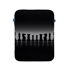 Chess Pieces Apple Ipad 2/3/4 Protective Soft Cases by Valentinaart