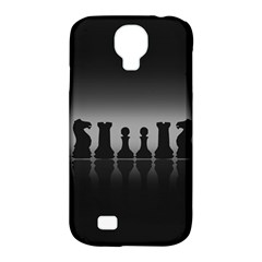 Chess Pieces Samsung Galaxy S4 Classic Hardshell Case (pc+silicone)