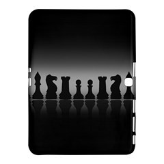 Chess Pieces Samsung Galaxy Tab 4 (10 1 ) Hardshell Case  by Valentinaart