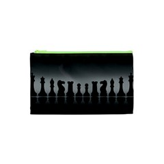 Chess Pieces Cosmetic Bag (xs)