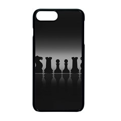 Chess Pieces Apple Iphone 7 Plus Seamless Case (black) by Valentinaart