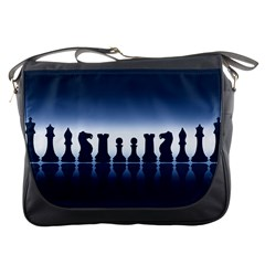 Chess Pieces Messenger Bags by Valentinaart