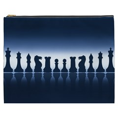 Chess Pieces Cosmetic Bag (xxxl)  by Valentinaart