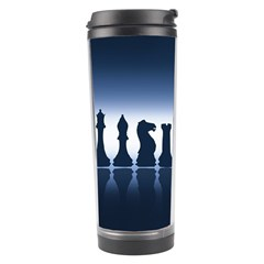 Chess Pieces Travel Tumbler by Valentinaart