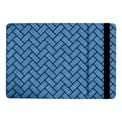 Brick2 Black Marble & Blue Colored Pencil (r) Samsung Galaxy Tab Pro 10 1  Flip Case by trendistuff