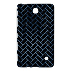 Brick2 Black Marble & Blue Colored Pencil Samsung Galaxy Tab 4 (8 ) Hardshell Case  by trendistuff