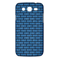 Brick1 Black Marble & Blue Colored Pencil (r) Samsung Galaxy Mega 5 8 I9152 Hardshell Case  by trendistuff