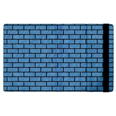 Brick1 Black Marble & Blue Colored Pencil (r) Apple Ipad Pro 9 7   Flip Case by trendistuff