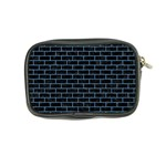 BRICK1 BLACK MARBLE & BLUE COLORED PENCIL Coin Purse Back