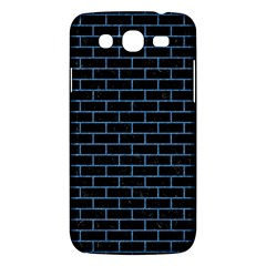Brick1 Black Marble & Blue Colored Pencil Samsung Galaxy Mega 5 8 I9152 Hardshell Case  by trendistuff