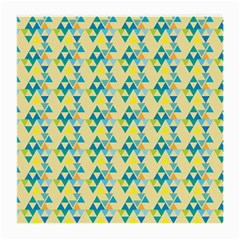 Colorful Triangle Pattern Medium Glasses Cloth by berwies