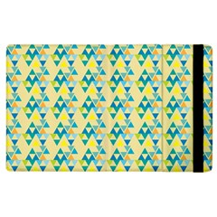 Colorful Triangle Pattern Apple Ipad 3/4 Flip Case by berwies