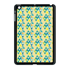 Colorful Triangle Pattern Apple Ipad Mini Case (black) by berwies