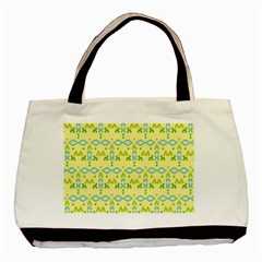 Simple Tribal Pattern Basic Tote Bag (two Sides) by berwies