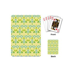 Simple Tribal Pattern Playing Cards (mini)  by berwies