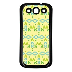 Simple Tribal Pattern Samsung Galaxy S3 Back Case (black) by berwies