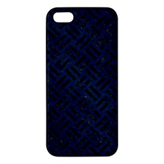 Woven2 Black Marble & Blue Grunge (r) Iphone 5s/ Se Premium Hardshell Case by trendistuff
